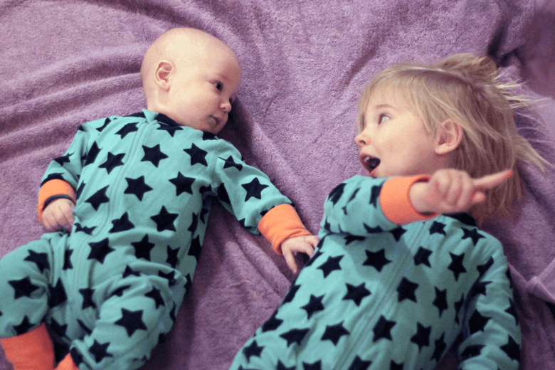 First matching Christmas pyjamas