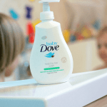 Keeping the kids clean with Baby Dove
