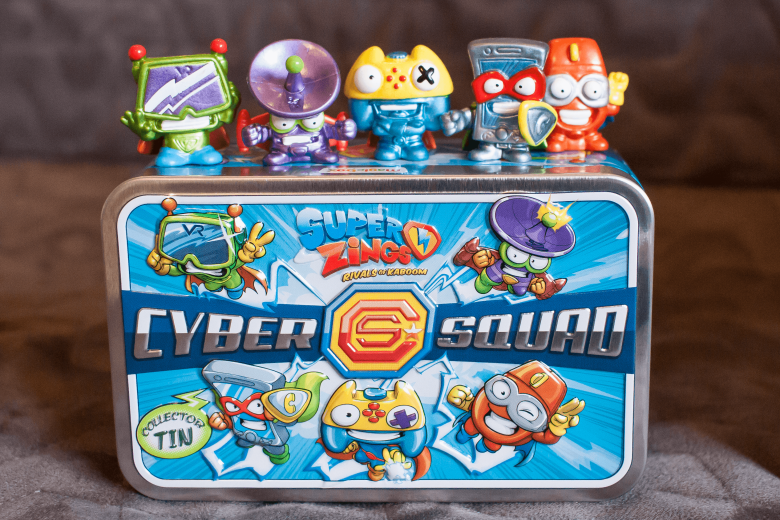 Superzings Cyber Squad Collector's Tin