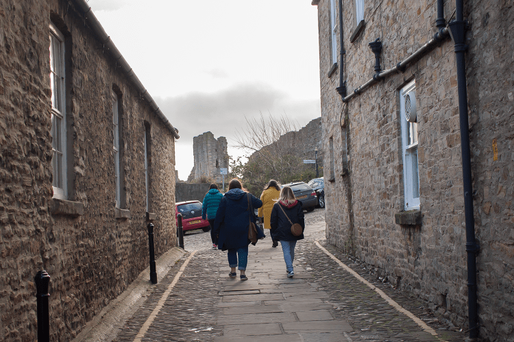 Wandering up to Richmond Castle
