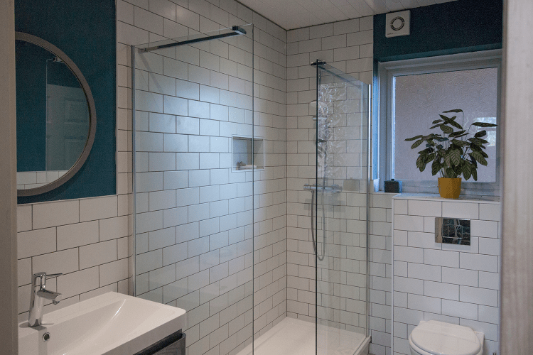 Bathroom after makeover - complete bathroom renovation