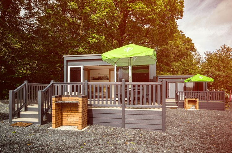 Glamping pods from Experience Freedom at Consiton Park Coppice in the Lake District