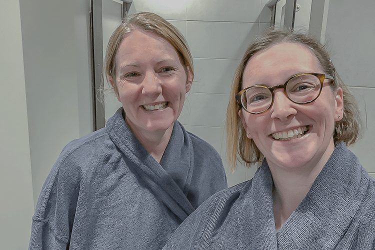 Claire and Me at The Garden Spa Warrington