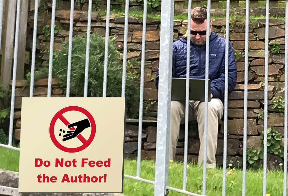 Do Not Feed the Author!