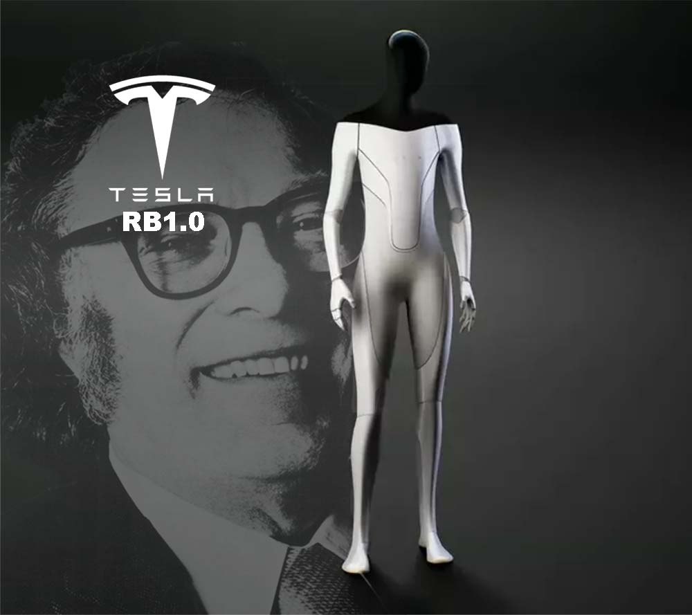 Tesla to Build Asimov Style Humanoid Robots!