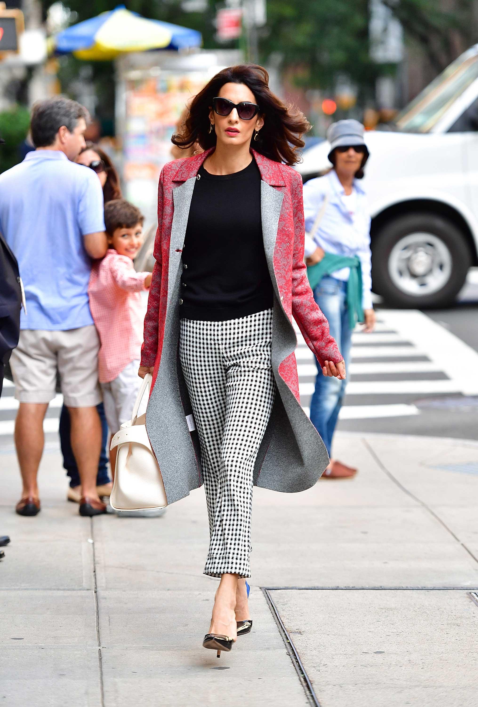 Amal Clooney Fashion Amal Alamuddins Best Looks