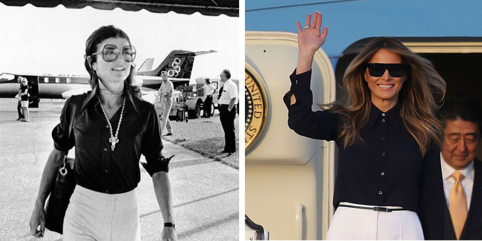 jackie kennedy and melania trump
