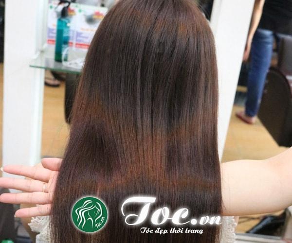 Dịch vụ duỗi tóc thẳng tự nhiên, đẹp, thời trang