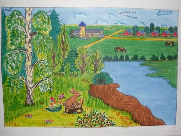 Красивые картинки о природе для детей: пейзажи, сезоны ...