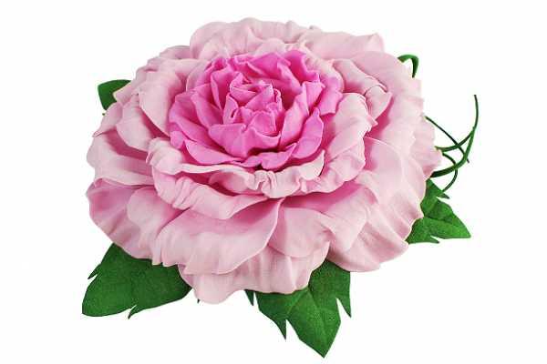 Цветок из фоамирана мастер класс с пошаговым фото – мастер ...