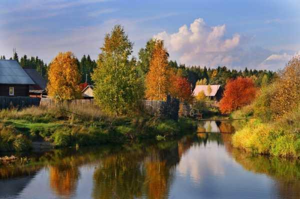 Картинки осень в деревне – Ой!