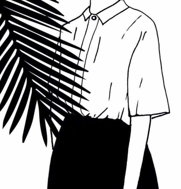 Рисунки черно белые для срисовки легкие – Ой!