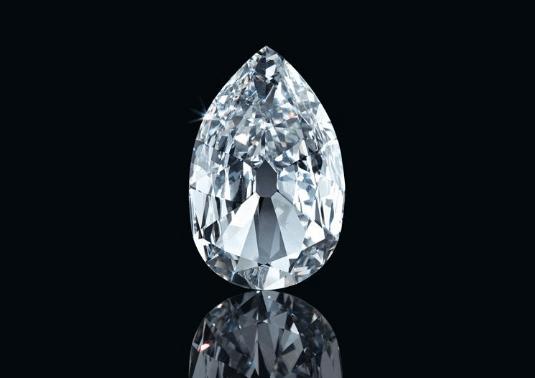 Бриллиант Arcot 17.21 карат, из коллекции  Аль-Тани  Эстимейт 2 000 000–4 000 000 долларов.  Christie`s
