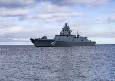Черноморский флот РФ начал учения вблизи учений НАТО
