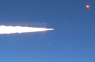 Сила русского оружия: Россия вновь показала миру пуск гиперзвуковой ракеты