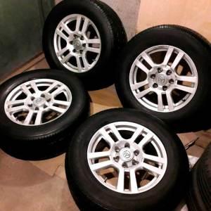 Летние колеса R18 Toyota Land Cruiser Prado
