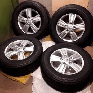 Новые летние колеса R18 Toyota Land Cruiser 200