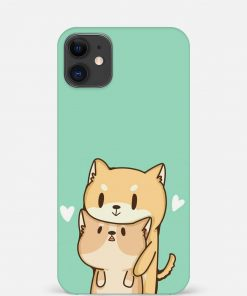 Cute Cat iPhone 12 Mini Mobile Cover