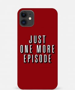 One More Episode iPhone 12 Mini Mobile Cover