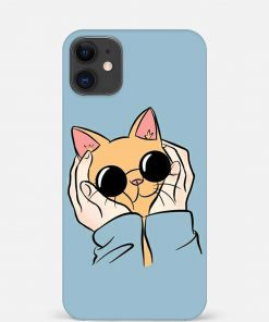 Kitty iPhone 12 Mini Mobile Cover