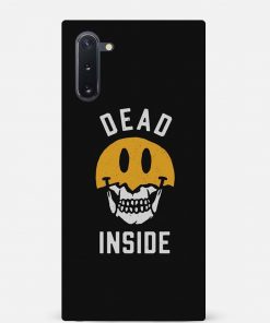 Dead Inside Samsung Galaxy Note 10 Mobile Cover