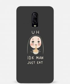 Just Eat Oneplus 7 Mobile Cover