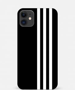 White Stripe iPhone 12 Mini Mobile Cover
