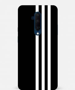 White Stripe Oneplus 7T Pro Mobile Cover