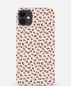Nude Leopard iPhone 12 Mini Mobile Cover