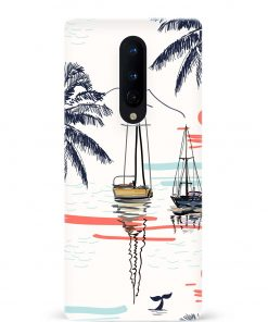 Summer Beach Oneplus 8 Mobile Cover