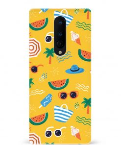 Summer Vibes Oneplus 8 Mobile Cover