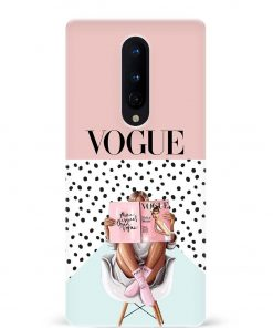 Vogue Oneplus 8 Mobile Cover