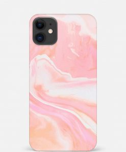 Pink Abstract iPhone 12 Mini Mobile Cover