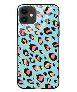 Animal Pattern iPhone 12 Glass Case Cover