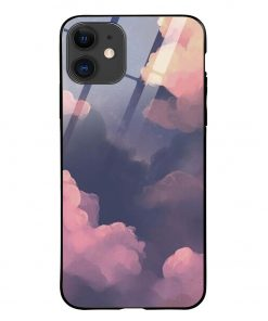 Clouds iPhone 12 Glass Case Cover