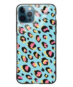 Animal Pattern iPhone 12 Pro Max Glass Case Cover
