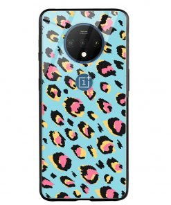 Animal Pattern Oneplus 7T Glass Case Cover