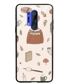 Autumn Essentials Oneplus 8 Pro Glass Case Cover