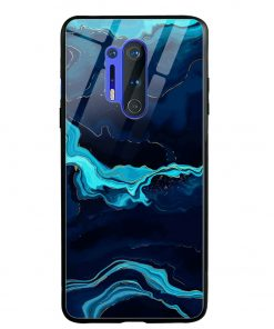 Blue Marble Oneplus 8 Pro Glass Case Cover
