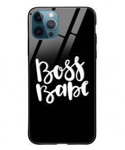 Boss Babe iPhone 12 Pro Max Glass Case Cover
