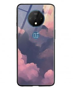 Clouds Oneplus 7T Glass Case Cover