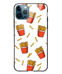Fries iPhone 12 Pro Max Glass Case Cover