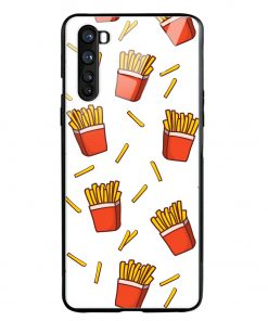Fries Oneplus Nord Glass Case Cover