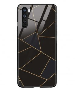 Golden Lines Oneplus Nord Glass Case Cover