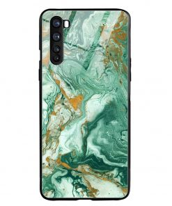 Green Paint Oneplus Nord Glass Case Cover