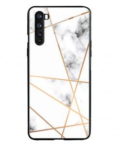 Marble Line Oneplus Nord Glass Case Cover