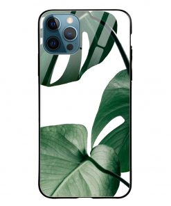 Monstera iPhone 12 Pro Max Glass Case Cover