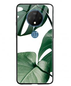 Monstera Oneplus 7T Glass Case Cover