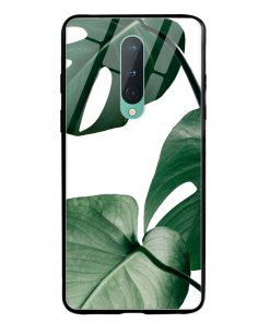 Monstera Oneplus 8 Glass Case Cover