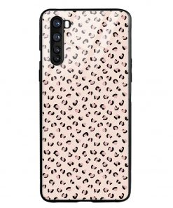 Nude Leopard Oneplus Nord Glass Case Cover
